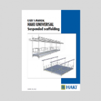 HAKI Suspended Scaffold (Hanging Scaffold) user guide